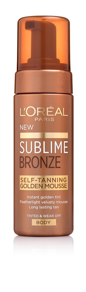לוריאל פריז sublime bronze golden mousse צילום מוטי פישביין