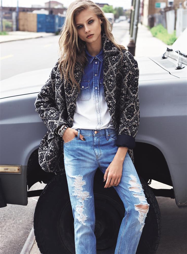 ג'ינס. הרבה ג'ינס. צילום טרי ריצארדסון