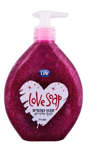 סבון נצנצים