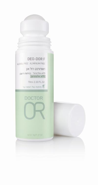 דיאודורנט של דוקטור עור ללא אלומיניום מחיר 50.90 צילום מוטי פישביין