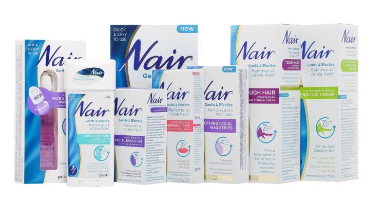 מוצרים חדשים להסרת שיער של המותג NAIR צילום יחצ חול (1) (Custom) (2)