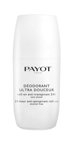 פאיו דיאודרנט payot deodorant ultra douceur 24 hours anti perspirant roll on alcohol free 156 shekel for 75 ml .jpd