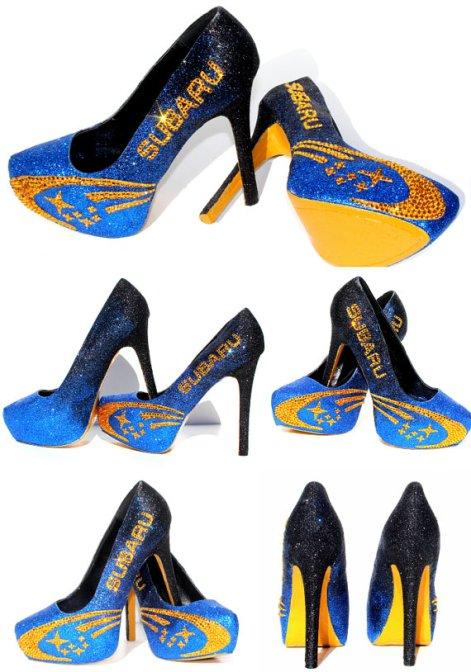 סובארו. נעליים מאתר ETSY