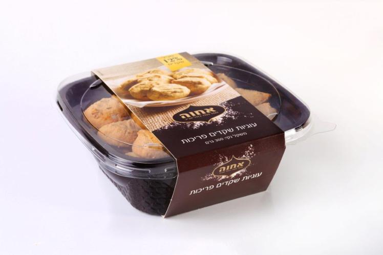 עוגיות שקדים פריכות אחוה