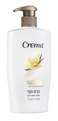 Crema תחליב גוף בניחוח פרח הוניל 500 מל 33 שח  צילום מוטי פישביין  (2)