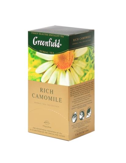 חליטת תה קמומיל גרינפילד 15.90 שח