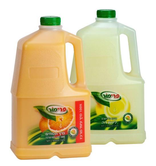 מיצים חדשים לפרימור - רכז תפוזים ולימונדה