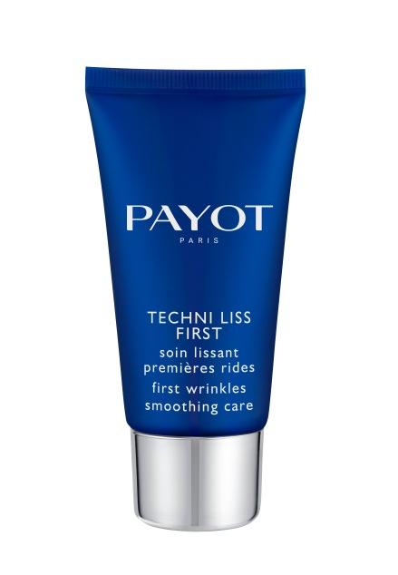 PAYOT TECHNI LISS FIRST  פאיו קרם הפנים לקמטים הראשונים מחיר 159 שח ל 50 מל צילום חול .jpg