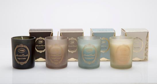 SABON, נרות בכוס בארבעה ניחוחות, 60 גר, 24שח, צלם דן לב (Custom)