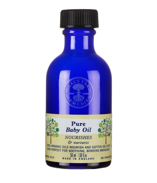 Neal's Yard Remedies, שמן תינוקות אורגני, 80 שח