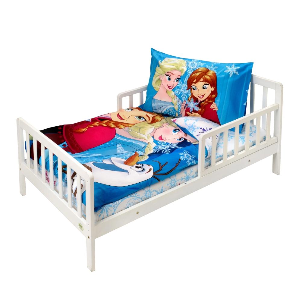 לורה סוויסרה מצעים למיטת מעבר אלזה ואנה מחיר 169 שקלים צילום יחצ