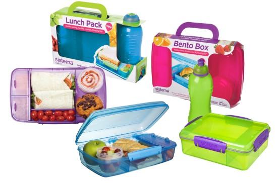 סדרת קופסאות האוכל החדשה של סיסטמה בטווח של 69.90-79.90 שח ברשת ארקוסטיל קיטצ'ן. צילום יחצ